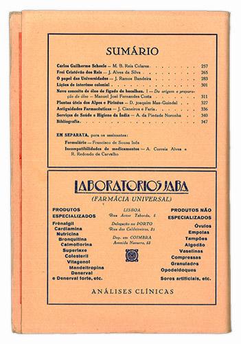 JABA | Notícias Farmacêuticas 1944