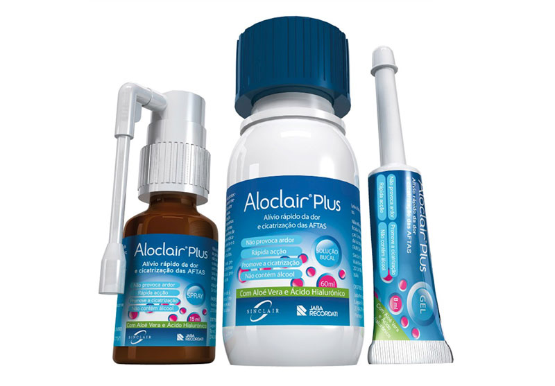 Aloclair® Plus - Gama de tratamento para as aftas
