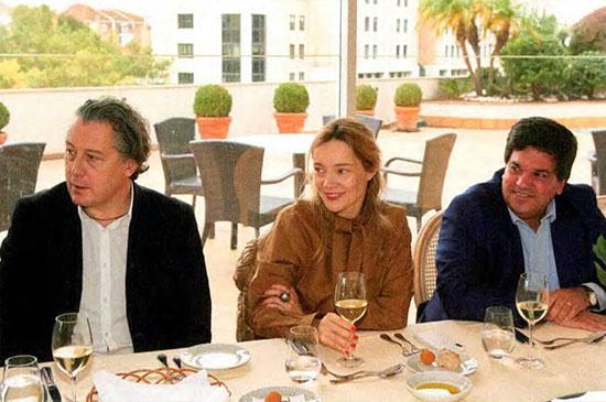 Álvaro Covões (Everything is New), Rita Torres Baptista (Nos) e José Eduardo Nunes (CLC — Companhia Logística de Combustíveis)