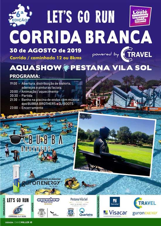 6ª Corrida Branca - Let's Go Run 2019