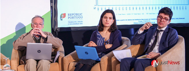 Henrique Botelho, Margarida Santos e Duarte Santos