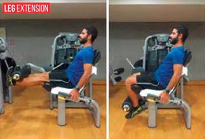 Exercício - Leg Extension