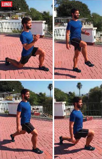 Exercício - Walking Lunge