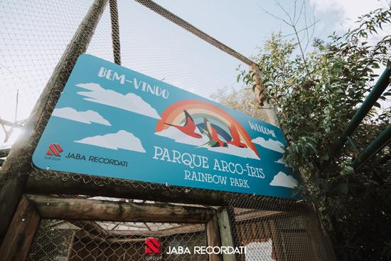 Parque Arco-Íris do Jardim Zoológico recuperado com ajuda da Jaba Recordati