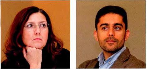 Luísa Silva (Sanofi) e Pedro Martins (Novartis)
