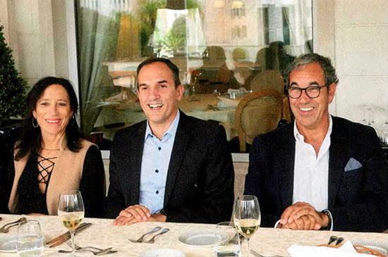 M.ª João Vieira Pinto (Marketeer), Pedro Rodrigues (Desafio Global) e Rui Rijo Ferreira (Jaba Recordati)