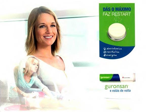 Guronsan® procura reposicionar-se como um produto revitalizante