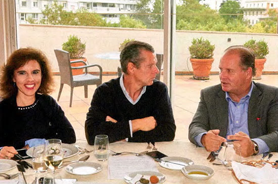 Patrícia Fernandes (Montepio), Tomás Pinto Gonçalves e Nuno Pinto de Magalhães (Central de Cervejas)
