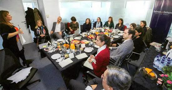 Pequeno-almoço debate promovido pela Pedersen & Partners
