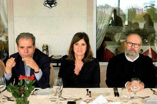 Ricardo Tomaz (SIVA), Carla Cruz (CTT) e Fernando Oliveira (Mundicenter)
