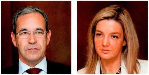 Rui Rijo Ferreira (Jaba Recordati) e Sofia Freire (Angelini)