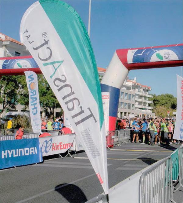 Transact®Lat apoia o running e um estilo de vida saudável e activo